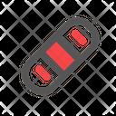 Bandage Health Care Icon