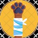 Bandage Plaster Dog Icon