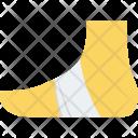 Bandage Foot Injury Icon