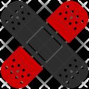 Bandage Medical Patch Icon
