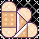 Bandage Medicine Care Icon