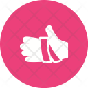 Bandaged hand Icon