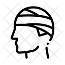 Bandaged Head Man Icon