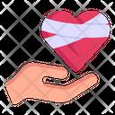Heal Heart Bandaged Heart Heart Care Icon