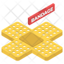 Bandages Band Aid Adhesive Icon