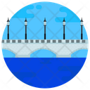 Japan Bridge Bandai Bridge Footbridge Icon
