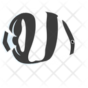 Banded Butterfy Fish Icon