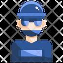 Bandit Gangster Terrorist Icon