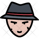 Bandit Gang Crime Icon