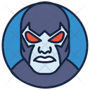 Bane Blaster Face Batman Icon