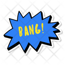 Bang Super Hero Icon