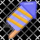 Firecracker Rocket Cracker Banger Icon