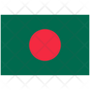 Flag Country Bangladesh Icon