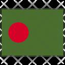 Bangladesh Country National Icon