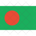 Bangladesh Flag World Icon