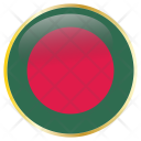 Bangladesh Flag Country Icon