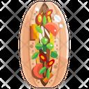 Banh Mi Vietnam Sandwich Icon