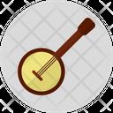Banjo Music Instrument Icon