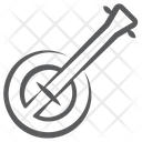 Banjo Sitar Musical Instrument Icon