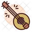 Banjo Sitaar Music Intrument Icon