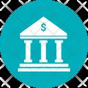 Foundation Buildig Bank Icon
