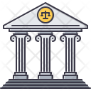 Bank Court Justice Icon