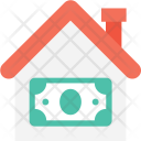 Building Currency Bank Icon