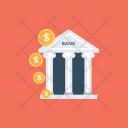 Bank Building Column Icon