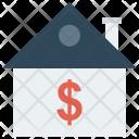 Bank Dollar Saving Icon