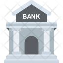 Bank Structure Building Icon