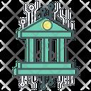 Bank Banking Bitcoin Icon