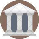 Courthouse Court Building Icon