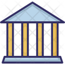 Bank Building Building Columns Icon