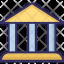 Bank Building Building Columns Icon