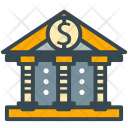 Bank Building Account Icon