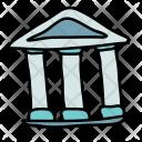 Bank Law Building Icon