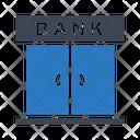 Bank Door Close Icon