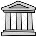 Bank Building Financial Institute Icon