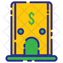 Business Investation Bank Money Icon
