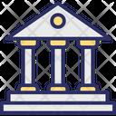 Bank Bank Building Bank Exterior Icon