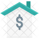 Bank Building Real Estate Icon