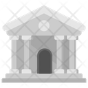 Bank Bank Structure Depository Home Icon