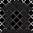 Bank Loan Service Bank Interest Icon