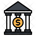 Bank Finance Money Icon