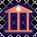 Bank Debt Finance Icon