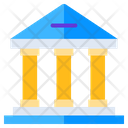 Bank Government Building Financial Building Icon
