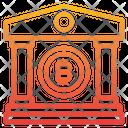 Bank Money Bitcoin Cryptocurrency Bank Bitcoin Bank Icon