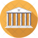Bank Building Money Icon