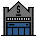 Bank Building Finance Icon