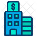 Building Government Finance Icon